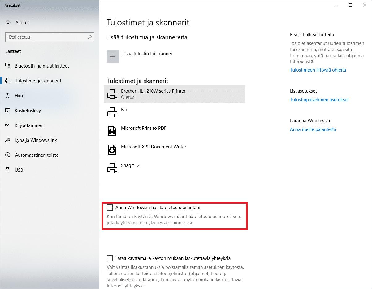 Tulostin Ei Toimi Windows 10