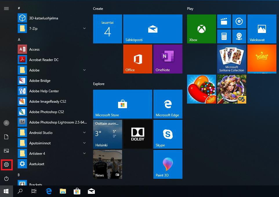 Windows 10 Koodi
